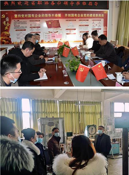 安徽省职业经理人协会来我公司开展交流活动