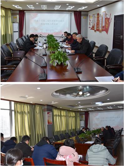 中鑫公司第二届经营管理层成员换届考核工作会议顺利召开